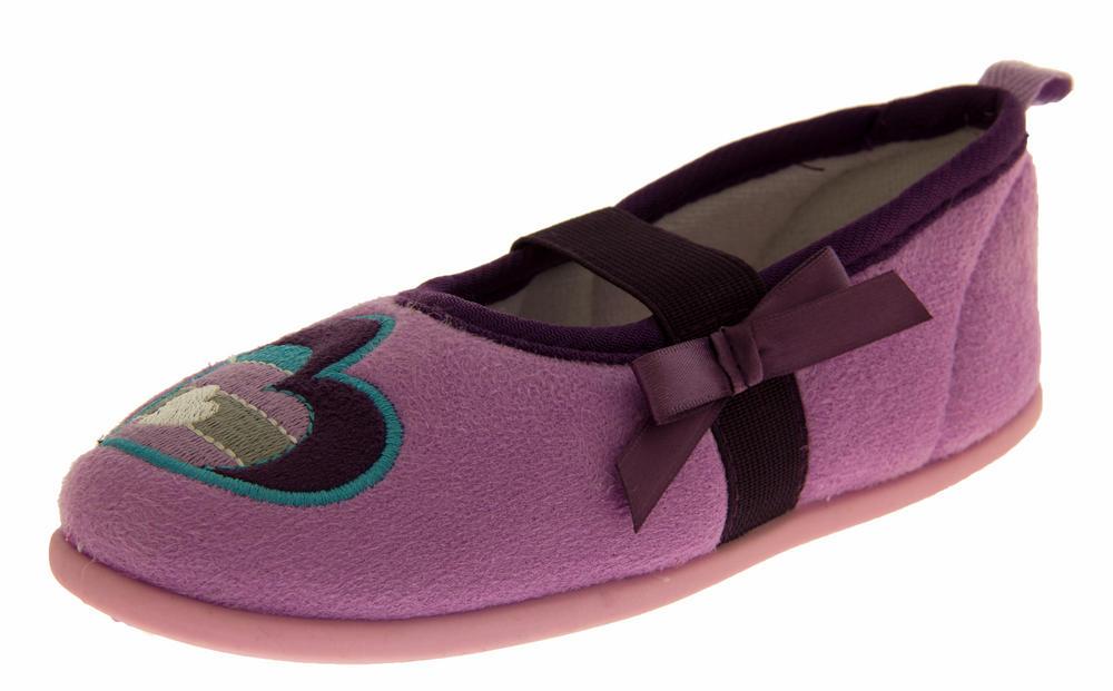 Girls DeFonseca Vibrante Ballerina Slippers