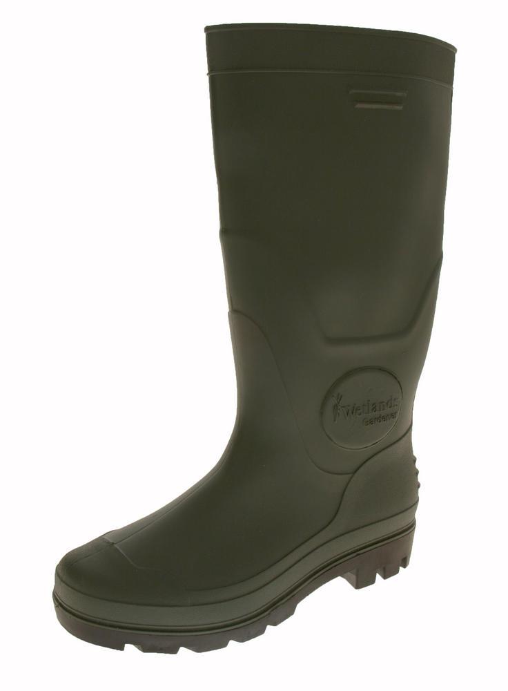 Mens Wetland Gardener Waterproof Wellington Boots