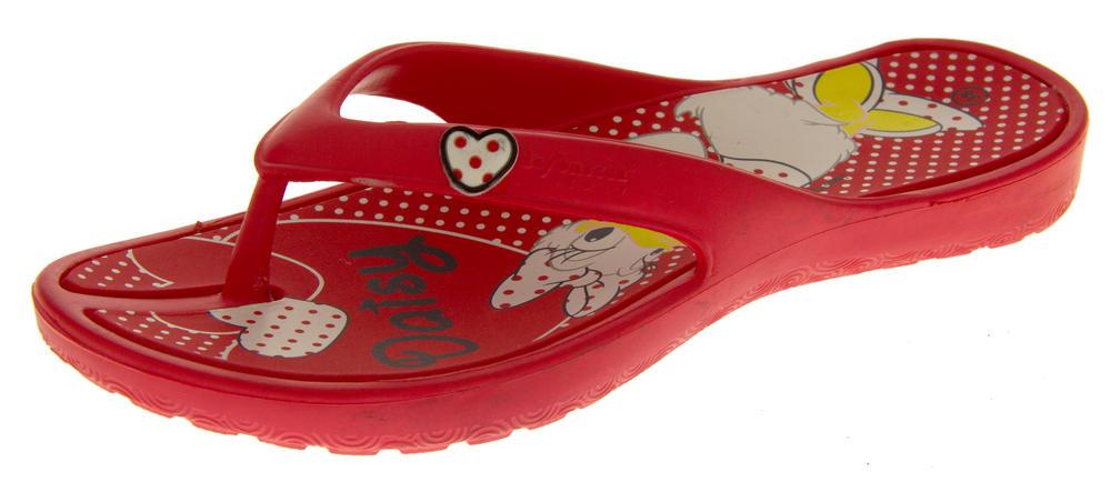 Girls DISNEY Minnie and Daisy Flip Flop Sandals