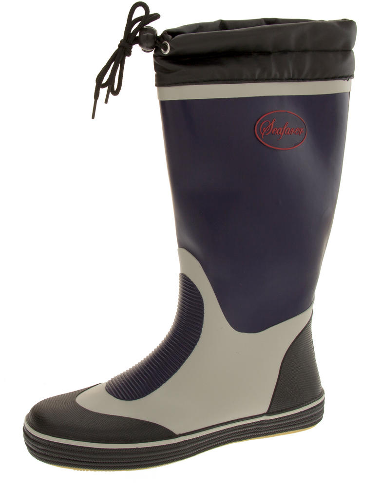 Mens Seafarer Waterproof Wellington Boots
