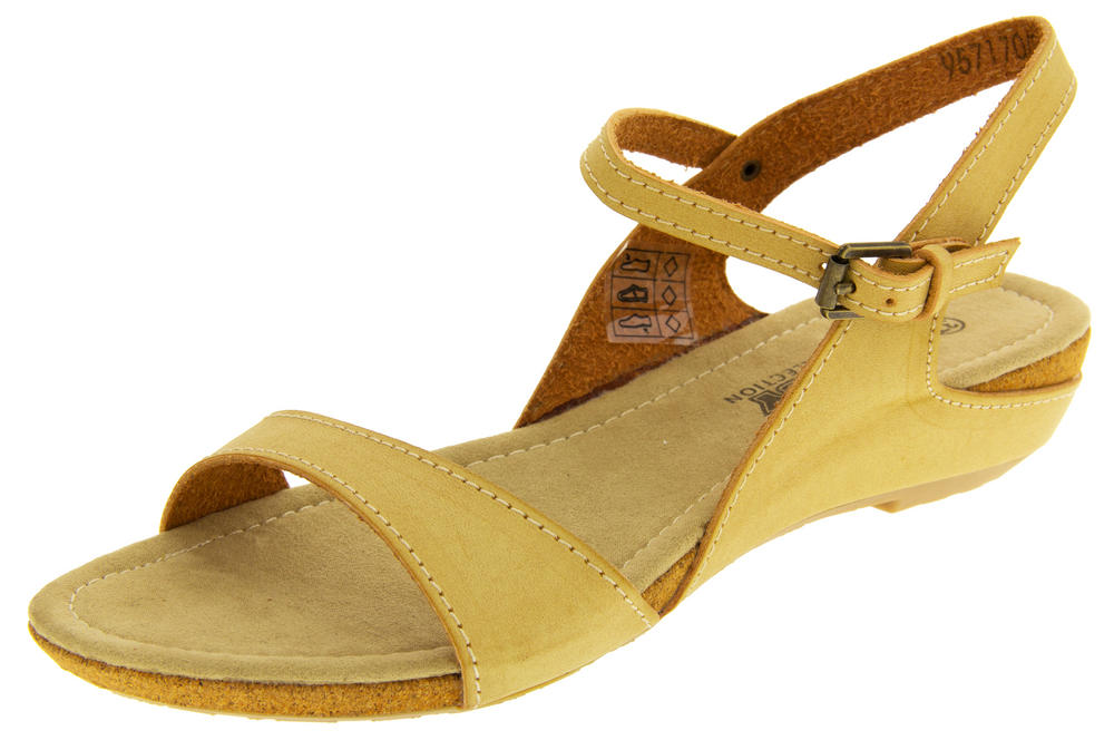 Womens BETSY Low Wedge Sandals Ladies Summer Slingback Shoes Size 3 4 5 6 7 8