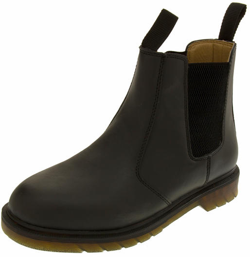 "Mens Northwest Territory ""Sydney"" Leather Pull On Chelsea Style Ankle Boots"