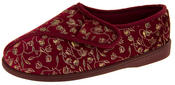 Womens Extra Wide Fitting Diabetic Orthopaedic Slippers Thumbnail 1