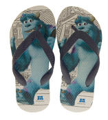 Boys Girls Monsters University Summer Flip Flops feat. Sulley Thumbnail 1