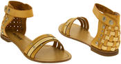 Womens BETSY Gladiator Summer Sandals Thumbnail 6