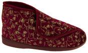 Womens Velcro Orthopaedic Slipper Boots Thumbnail 11