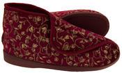 Womens Velcro Orthopaedic Slipper Boots Thumbnail 12