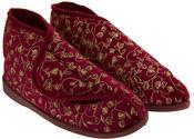 Womens Velcro Orthopaedic Slipper Boots Thumbnail 5