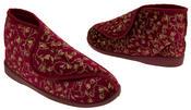 Womens Velcro Orthopaedic Slipper Boots Thumbnail 9