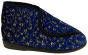 Womens Velcro Orthopaedic Slipper Boots Thumbnail 2