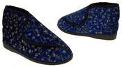 Womens Velcro Orthopaedic Slipper Boots Thumbnail 3