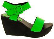 Womens BETSY Platform Wedge Sandals Thumbnail 6