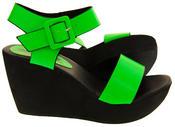 Womens BETSY Platform Wedge Sandals Thumbnail 7