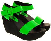 Womens BETSY Platform Wedge Sandals Thumbnail 8
