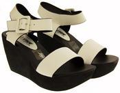 Womens BETSY Platform Wedge Sandals Thumbnail 11