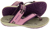Ladies Northwest Territory Miami Leather Toe Post Sandals Thumbnail 8