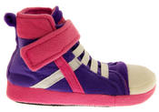 De Fonseca Kids High Top Trainer Boot Slippers Thumbnail 2
