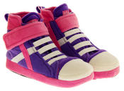 De Fonseca Kids High Top Trainer Boot Slippers Thumbnail 4