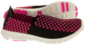 Gola Womens Stretchy Woven Elastic Running Shoes Ladies Trainers Thumbnail 4