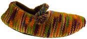 Ladies Kumfipumps Multicolour Knitted Ballerina Slippers Thumbnail 2