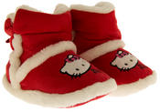 Girls Hello Kitty Faux Fur Lined Boot Slippers Thumbnail 10