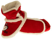 Girls Hello Kitty Faux Fur Lined Boot Slippers Thumbnail 12