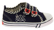 Boys De Fonseca Timotto2 Twin Velcro Strap Canvas Shoes Thumbnail 3