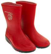 Childrens DUNLOP Rainy Day Elephant Wellington Boots Thumbnail 10