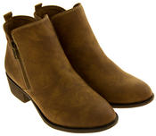 Ladies S.Oliver 25302-27 Suede Effect Ankle Boots Thumbnail 8