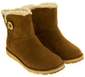 Womens S.Oliver Fur Lined Booties Thumbnail 11
