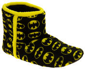 Mens Batman Fleece Warm Pull On Boot Slippers Thumbnail 2