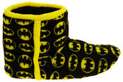 Mens Batman Fleece Warm Pull On Boot Slippers Thumbnail 3