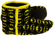 Mens Batman Fleece Warm Pull On Boot Slippers Thumbnail 4