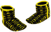 Mens Batman Fleece Warm Pull On Boot Slippers Thumbnail 7