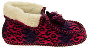 Ladies Coolers Winter Fur Lined Fairisle Slipper Boots Thumbnail 8