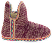 Womens Coolers Knitted Warm Lined Winter Boot Slippers Thumbnail 8
