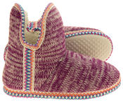 Womens Coolers Knitted Warm Lined Winter Boot Slippers Thumbnail 9