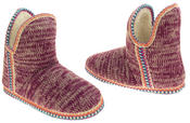 Womens Coolers Knitted Warm Lined Winter Boot Slippers Thumbnail 11