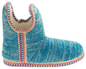 Womens Coolers Knitted Warm Lined Winter Boot Slippers Thumbnail 3