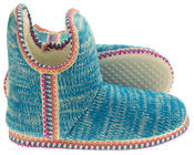 Womens Coolers Knitted Warm Lined Winter Boot Slippers Thumbnail 4