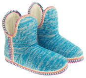 Womens Coolers Knitted Warm Lined Winter Boot Slippers Thumbnail 5