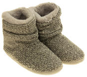 Ladies Coolers Warm Knitted Winter Fur Lined  Slipper Boots Thumbnail 5