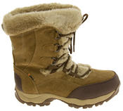 Ladies Hi-Tec Waterproof Suede Faux Fur Winter Snow Boots Thumbnail 8