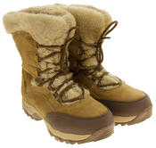 Ladies Hi-Tec Waterproof Suede Faux Fur Winter Snow Boots Thumbnail 10