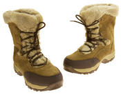 Ladies Hi-Tec Waterproof Suede Faux Fur Winter Snow Boots Thumbnail 12
