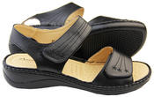 Womens Betty Touch Strap Comfort Sandals Thumbnail 4