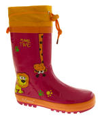 Kids De Fonseca Jungle Fun Wellington Boots Thumbnail 2