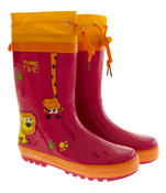 Kids De Fonseca Jungle Fun Wellington Boots Thumbnail 5