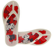 Girls DISNEY Minnie and Daisy Flip Flop Sandals Thumbnail 12