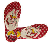Girls Disney Minnie Mouse Daisy Duck Flip Flops Beach Sandals Thumbnail 12